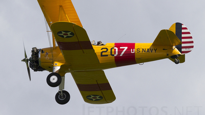 SE-BOZ - Boeing A75N1 Stearman - Private