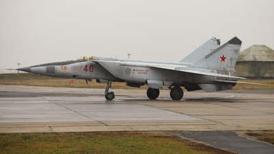 46 - Mikoyan-Gurevich MiG-25 Foxbat - Russia - Air Force