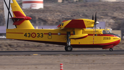 UD.14-03 - Canadair CL-415 - Spain - Air Force