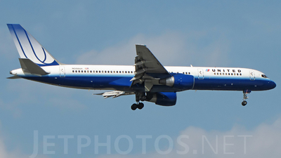 N508UA - Boeing 757-222 - United Airlines