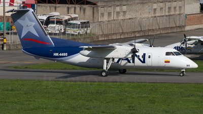 HK-4495 - Bombardier Dash 8-Q201 - LAN Colombia (Aires Colombia)