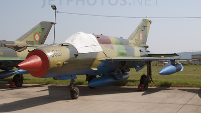9607 - Mikoyan-Gurevich MiG-21MF Lancer A - Romania - Air Force