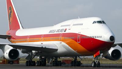 D2-TEB - Boeing 747-357(M) - TAAG Linhas Aéreas de Angola