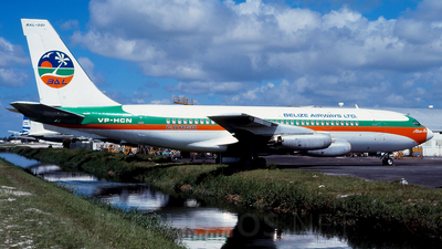 VP-CHN - Boeing 720-022 - Belize Airways