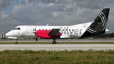 N430XJ - Saab 340B+ - Silver Airways