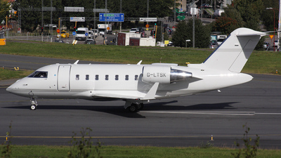 G-LTSK - Bombardier CL-600-2B16 Challenger 605 - TAG Aviation