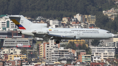 FAE691 - Boeing 727-134 - Ecuador - Air Force