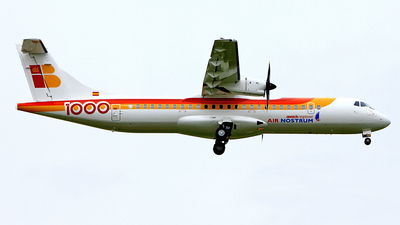 F-WWLX - ATR 72-212A(600) - Iberia Regional (Air Nostrum)