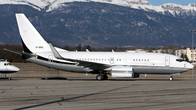 VP-BRM - Boeing 737-75U(BBJ) - Private