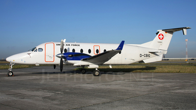 A picture of DCBIG - Beech 1900D - [UE288] - © AviaStar Photography