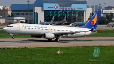 B-5180 - Boeing 737-8FH - Chang'an Airlines