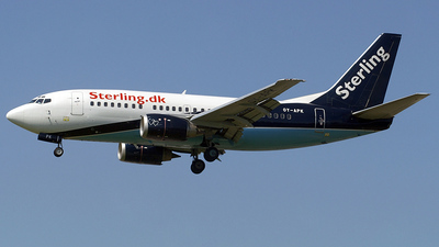OY-APK - Boeing 737-5L9 - Sterling Airlines
