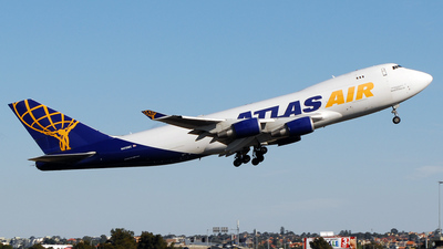 Boeing 747-47UF(SCD) - Atlas Air