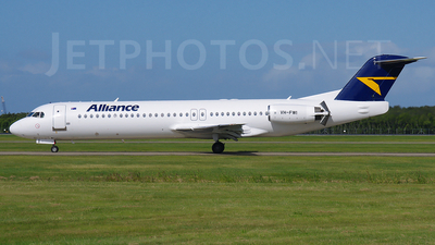 VH-FWI - Fokker 100 - Alliance Airlines