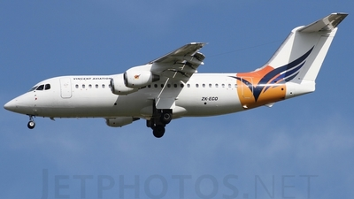 ZK-ECO - British Aerospace BAe 146-200 - Vincent Aviation