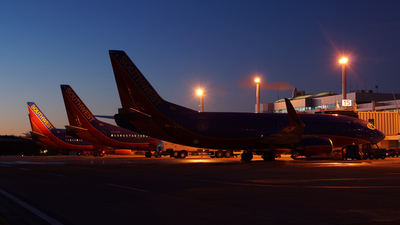 KMHT - Airport - Ramp