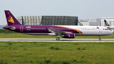 D-AVZS - Airbus A321-231 - Cambodia Angkor Air