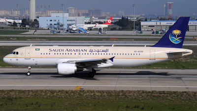HZ-AS39 - Airbus A320-214 - Saudi Arabian Airlines
