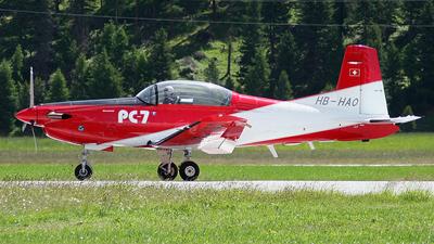 HB-HAO - Pilatus PC-7 - Private