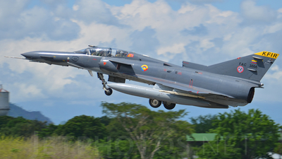 FAC3006 - IAI Kfir C10 - Colombia - Air Force