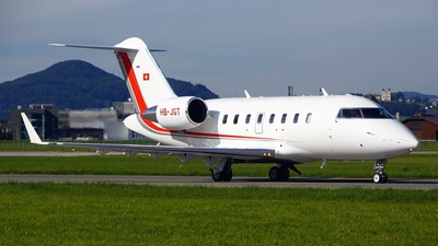 HB-JGT - Bombardier CL-600-2B16 Challenger 605 - Private