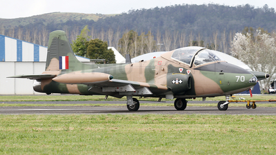 ZK-STR - British Aircraft Corporation BAC 167 Strikemaster - Private