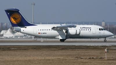D-AVRA - British Aerospace Avro RJ85 - Lufthansa Regional (CityLine)