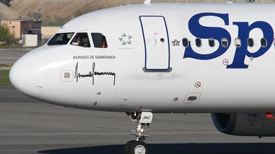 EC-JNC - Airbus A320-232 - Spanair