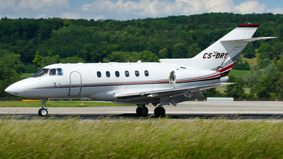CS-DRY - Raytheon Hawker 850XP - NetJets Europe