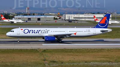 TC-JMD - Airbus A321-231 - Onur Air