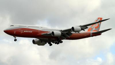 N6067E - Boeing 747-8JK - Boeing Company