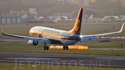 VT-JGV - Boeing 737-85R - Jet Airways