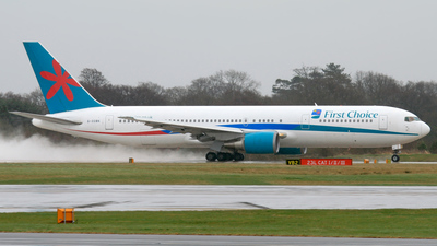G-OOBK - Boeing 767-324(ER) - Thomson Airways