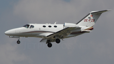 OE-FZB - Cessna 510 Citation Mustang - Private