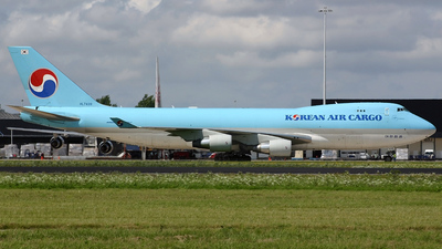 Boeing 747-4B5ERF - Korean Air Cargo