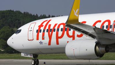 TC-AAK - Boeing 737-8FH - Pegasus Airlines