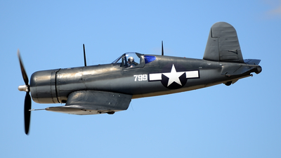 N83782 - Chance Vought F4U-1 Corsair - Private
