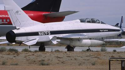 N417FS - North American F-100F Super Sabre - Big Sky Warbirds