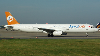 TC-TUC - Airbus A321-131 - Bestair