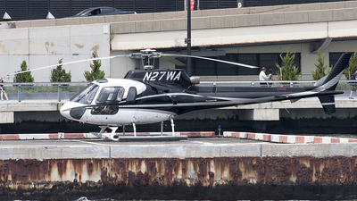 A picture of N27WA - Airbus Helicopters H125 - [2792] - © Lutz Herzog
