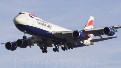 G-GSSE - Boeing 747-87UF - British Airways World Cargo (Global Supply Systems)