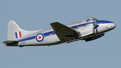 G-DHDV - De Havilland DH-104 Dove 8 - Air Atlantique