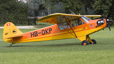 HB-OKP - Piper J-3C-65 Cub - Flying Ranch