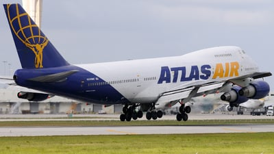 N540MC - Boeing 747-243B(SF) - Atlas Air