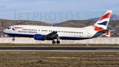 Boeing 737-436 - British Airways