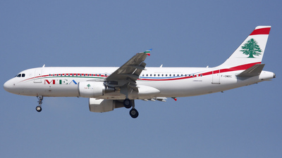 F-OMRC - Airbus A320-214 - Middle East Airlines (MEA)