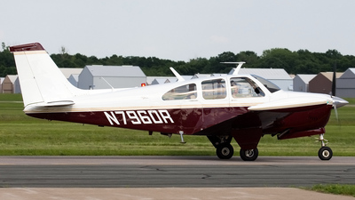N7960R - Beechcraft E33A Bonanza - Private