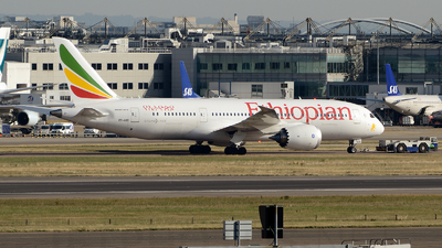 ET-AOO - Boeing 787-8 Dreamliner - Ethiopian Airlines