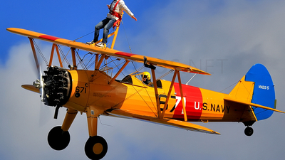 G-CGPY - Boeing A75L Stearman - Private