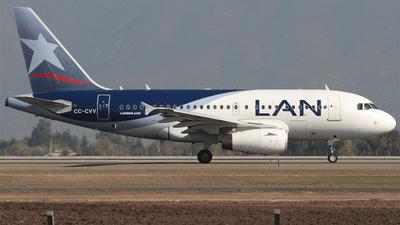 CC-CVV - Airbus A318-121 - LAN Airlines